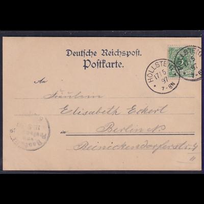 Ansichtskarte Grüß vom Hirschsprung, Höllenthal.