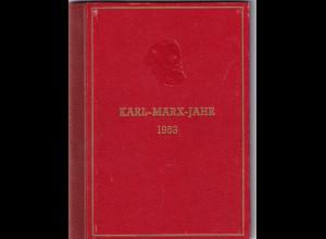 DDR., Karl-Marx Büchlein gestempelt Berlin