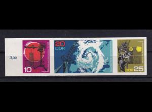 DDR. Mi.-Nr. 1343-1345 U als End-Phasendruck, postfrisch, Mi.500€