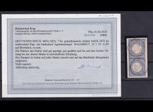 DR. Mi.-Nr. 10 (2), gestempelt , Befund, KrugBPP.