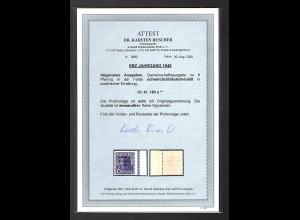 SBZ Mi.-Nr.183 e postfrisch mit Seitenrand, FA. DR. Ruscher