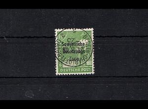 SBZ Mi.-Nr.185 a PF III gestempelt, Befund. DR. Ruscher
