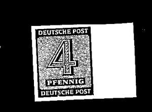 SBZ-Westsachen, Mi.-Nr.127 wa X U, postfrisch, FA. Dr. Jasch.
