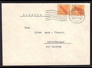 Berlin, Ausland-Brief mit MeF.Mi.-Nr. 27, sign. SchlegelBPP: