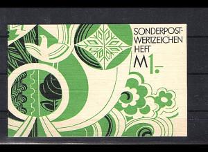 DDR Markenheftchen Mi. SMHD 7 postfrisch