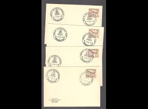 DR. 14 Karten mit unterschiedliche SS. Olympiade 36