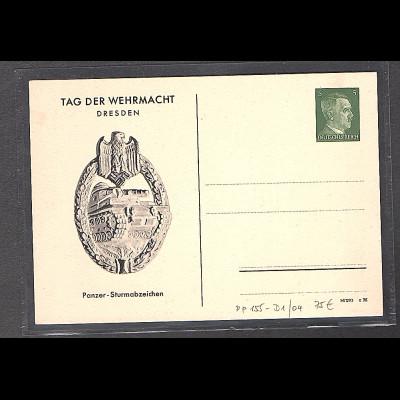 DR., Privatganzsache PP155-D1/04, Tag der Wehrmacht, ungebraucht.