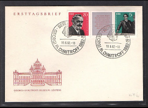 DDR. FDC. Mi.-Nr. ZD, 893-894