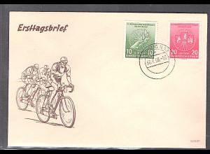 DDR. FDC. Mi.-Nr. 521 b - 522