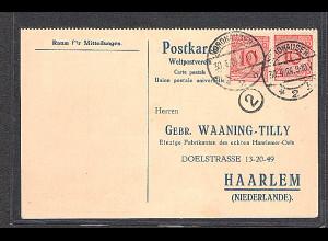 DR. Auslandkartef mit Me.F Mi.-Nr. 340 F/b, sign. SchlegelBPP.