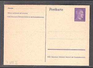 DR. Ganzsache Mi.-Nr. P 299 II ungebraucht.