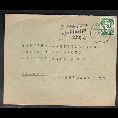 DR. Reklame-Brief, Farbe im Hochbau F. Wierzbowicz, Danzig.