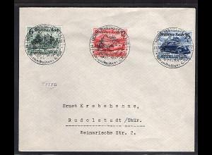 DR., Satzbrief Mi.-Nr. 695-697