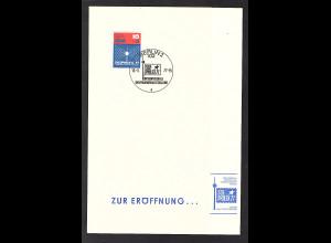DDR - Gedenkblatt, SOZPHILEX 1977, Zur Eröffnung..., B13-1977 b