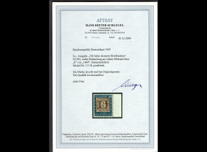 Bund. Mi.-Nr. 115 II postfrisch mit seitenrand, FA. SchlegelBPP.