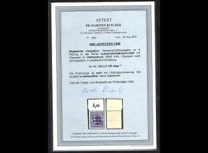 SBZ Mi.-Nr.183 e Platte OR. ndg. postfrisch FA. DR. Ruscher