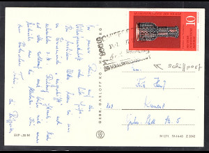 DDR Ansichtkarte gelaufen als Schiffpost-Karte 31.07.1972