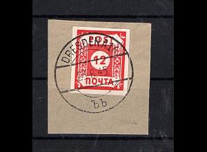 SBZ- Ostsachsen., POTSCHTA, Mi.-Nr. B I b/41, gestempelt, FA. Ströh