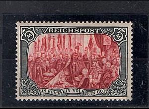 DR. 1900 Mi.-Nr. 66 III Ungebraucht, FA. Jäschke-L.