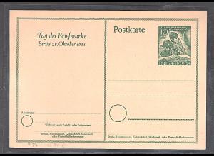 Berlin Ganzsache Mi.-Nr. P 27 ungebraucht.