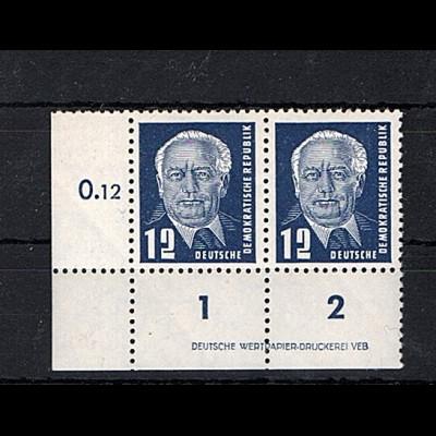 DDR. Mi.-Nr. 323vaXI DV1 postfrisch, Befund Mayer.