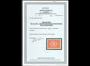 DR. Mi.-Nr. 194 b, postfrisch, FA. WeinbuchBPP., Befund BechtoldBPP.
